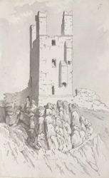 Dunstanburgh Castle, tower